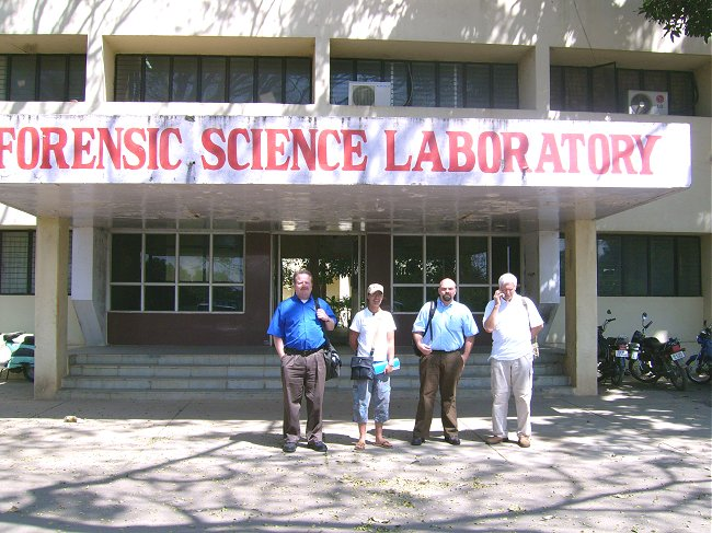 Team Usa To India Vocational Visit To The Forensic Lab
