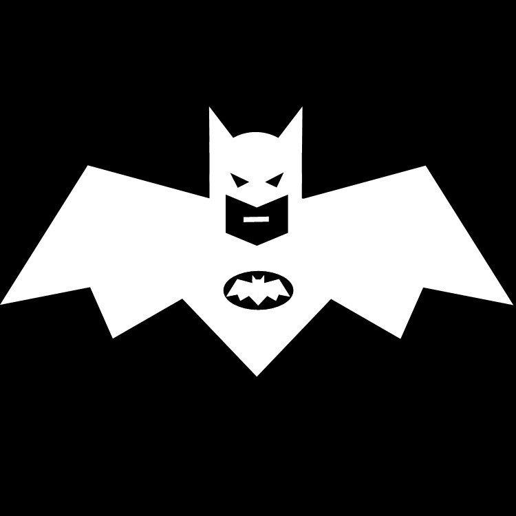 Batman's Logo Illusion  Optical Illusion Logo
