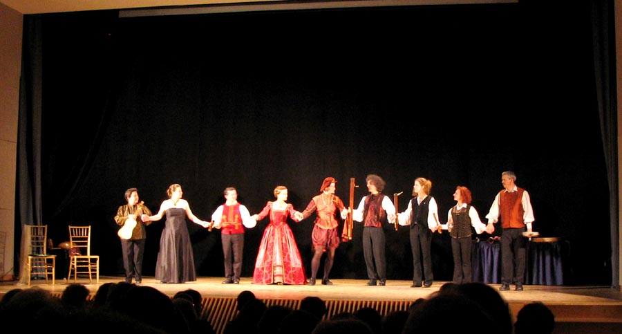 Ensemble Doulce Mémoire and Il Ballarino, La Maison Française, April 24, 2006