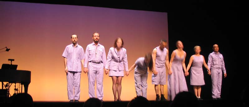 Meredith Monk and Vocal Ensemble, Impermanence, George Mason University Center for the Arts, February 25, 2006