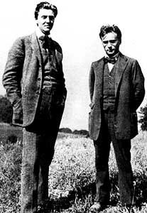 Alban Berg and Anton Webern, 1920