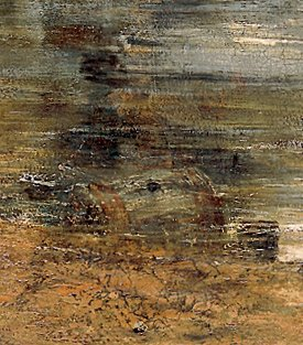 Detail from John Constable, The Hay Wain, 1821