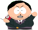 Cartman as Adolf Hitler, South Park