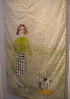 Jenny Watson, Mother and Dog, 2004