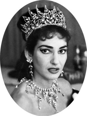 Maria Callas, jewelry by Ennio Marangoni