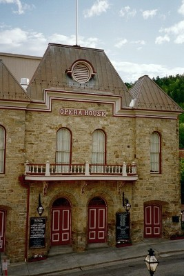 Central City Opera House, opened in 1878