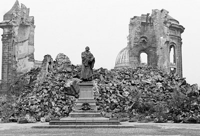 Ruins of the Frauenkirche, Dresden, Summer 1947