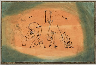 Paul Klee, Abstraktes Terzett, 1923, Metropolitan Museum of Art