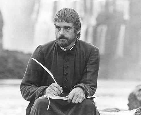 Jeremy Irons as Father Gabriel, The Mission, 1986