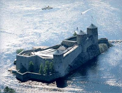 Olavinlinna Castle, site of the Savonlinna Opera Festival