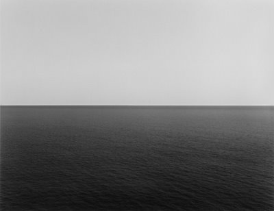 Hiroshi Sugimoto, Tyrrhenian Sea, Conca, 1994, private collection