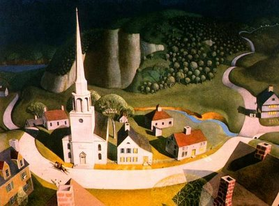 Grant Wood, The Midnight Ride of Paul Revere, 1931