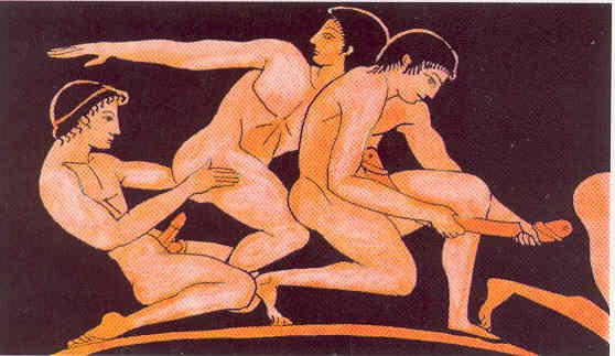 Ancient greek gay sex tube first time he 4