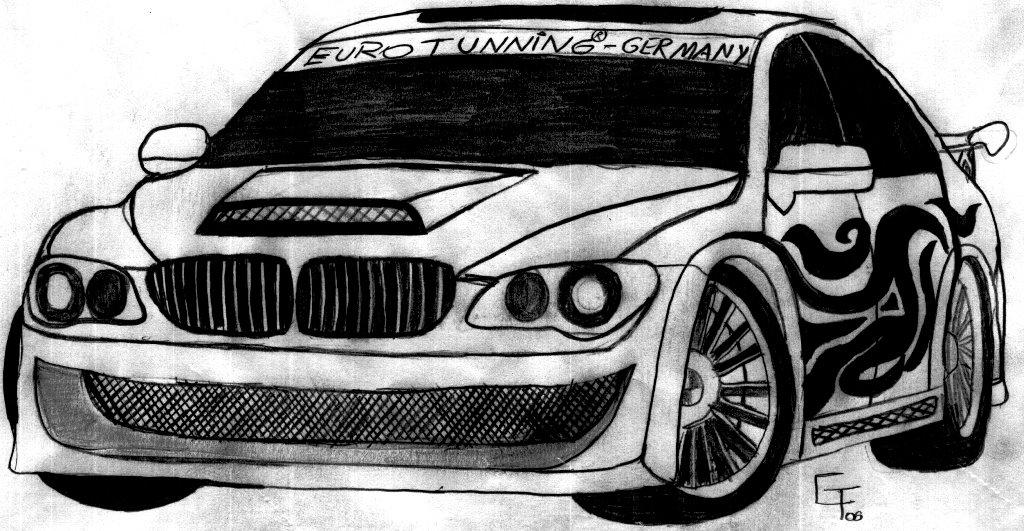 Desenhos Do Gilbert Meu Desenho Nº6 Bmw Alpina