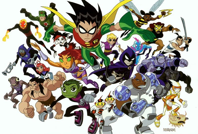 The Warner Bros Animation show Teen Titans has been cancelled, but there  seems to be something new coming to DVD ...