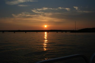 Lake Gaston sunset