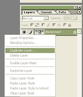 duplicate photoshop layer