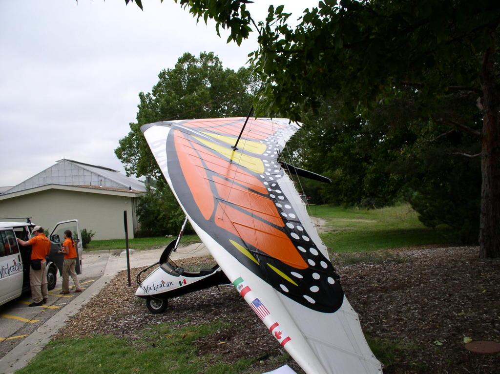 Linda's Backroad Musings: Monarch Ultralight Trike