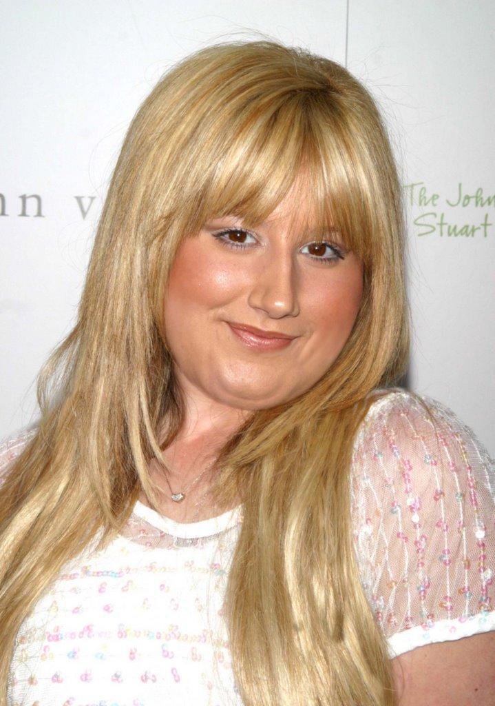 Ashley Tisdale Fat