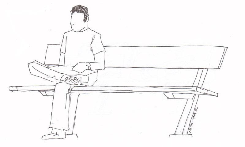 Draw Park Bench: Planetmithi Blog: September 2006