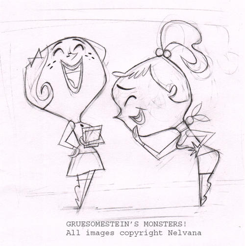 the art of gruesomestein u0026 39 s monsters  more poses