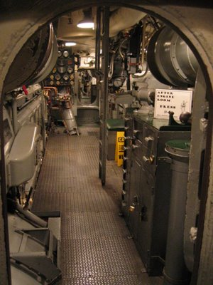 USS Pampanito Engine Room