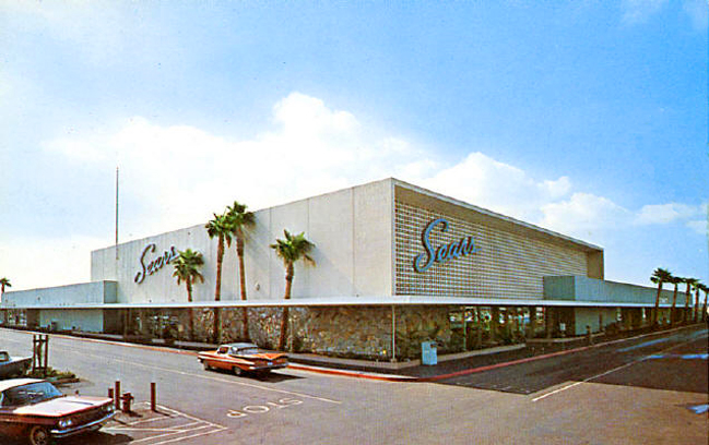 Malls of america vintage photos of lost shopping malls for Craft stores in phoenix