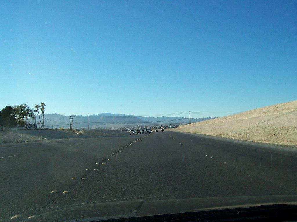 Blog Bilong Adam: Clark County Route 215 in Las Vegas