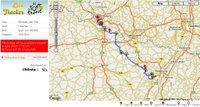 Tour de France su Google Maps