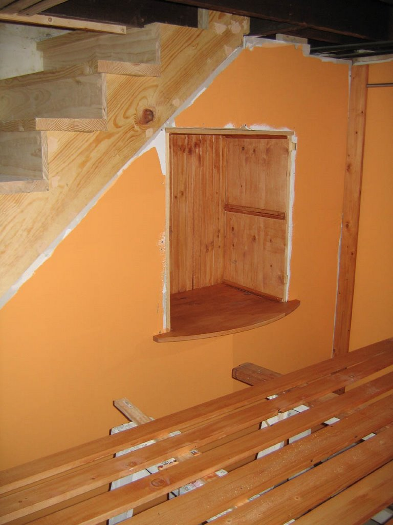 Basement Stair Trim: Our Tiny Oak Park Bungalow: Trim And Ceiling Almost Done