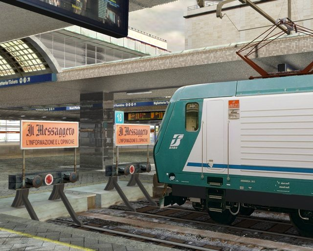 Ovvio...mai sentito di un treno che arrivasse o partisse in anticipo....