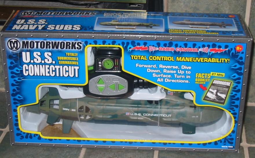 The Stupid Shall Be Punished Kewl Rc Submarine Toy