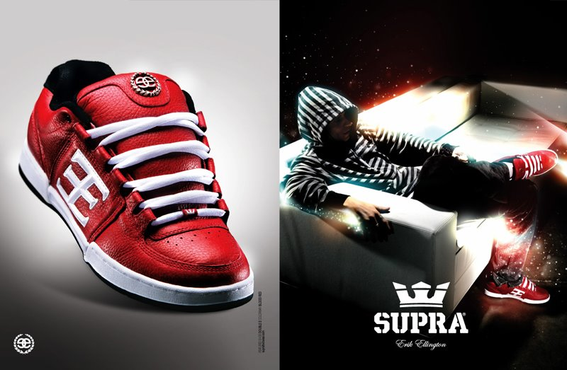 skate shoes compagny news  Supra published his official team 06ed1b15b885
