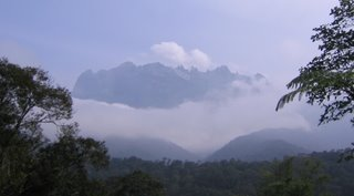 Photo of Mount Kinabalu in Malaysian Borneo (Sawawak province)