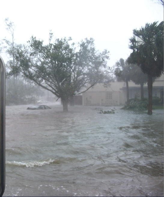 Biloxi Mississippi Air Force Base After Katrina One Year