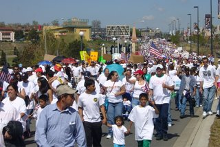 Immigrant rights rally, Denver, CO, May 1, 2006 by Joe Beine