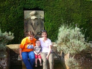 With aunty Jo