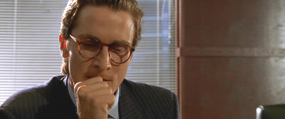 Exquisitely bored in nacogdoches american psycho part 2 reheart Image collections