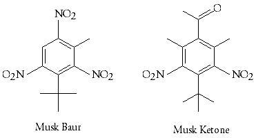 Perfume making: Musk