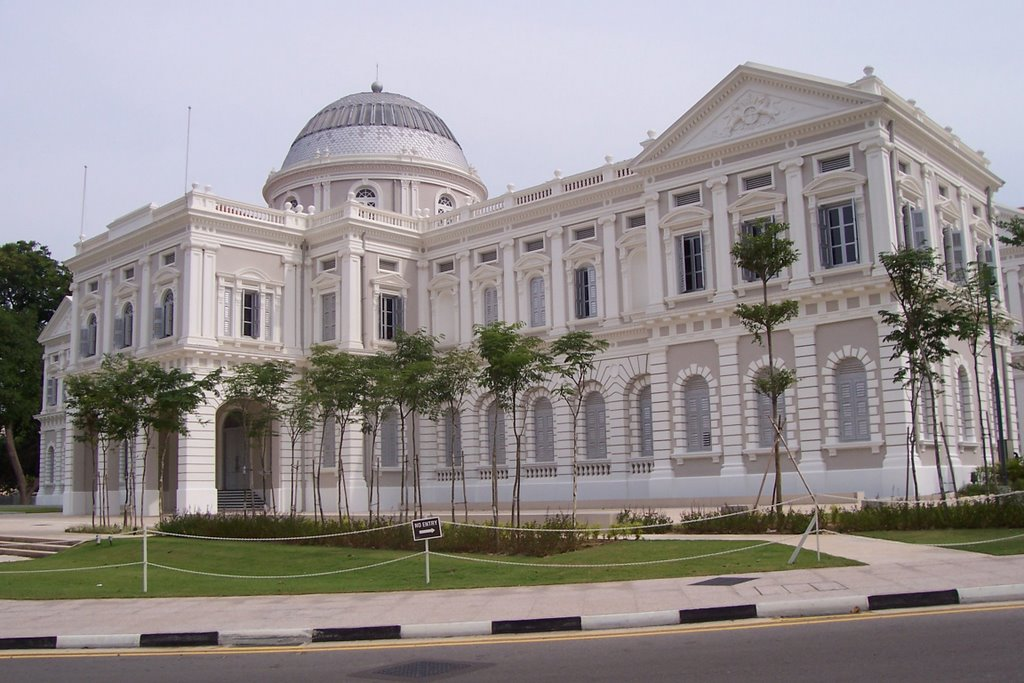 Places: 2 Dec 2006: At the National Museum of Singapore on National Museum Of Singapore  id=67053