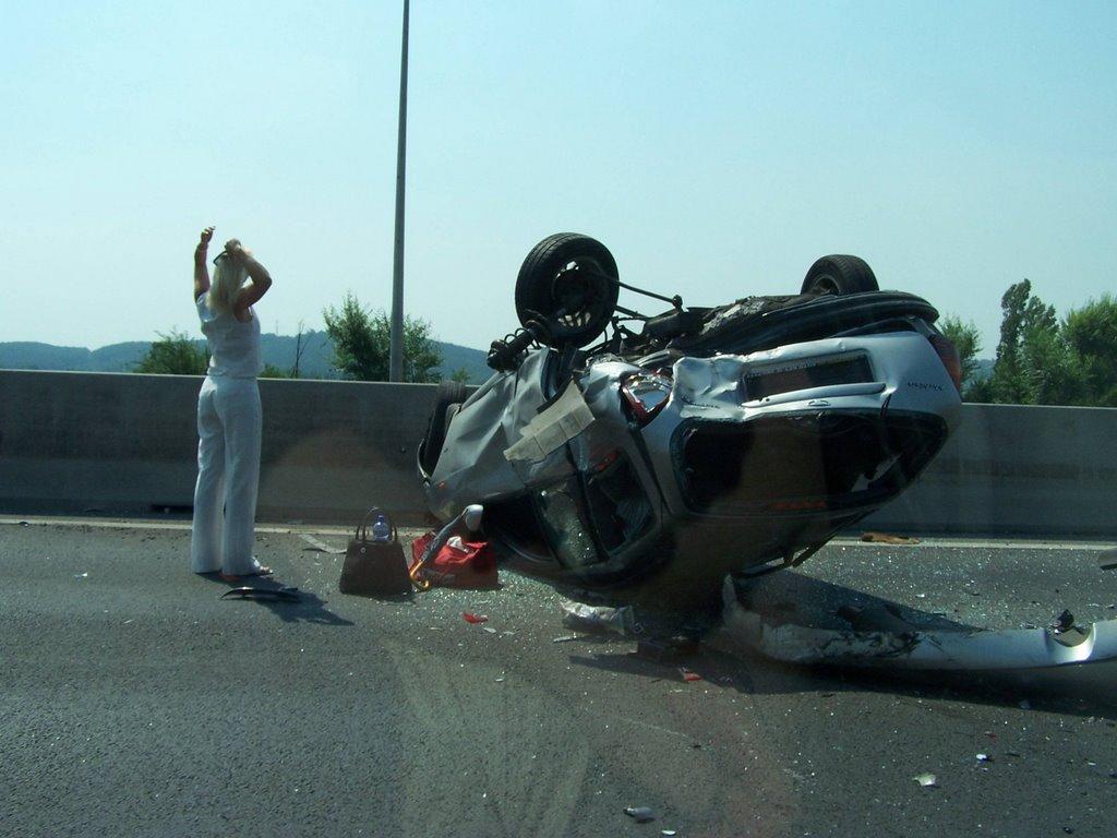 Blonde Car Accident 80