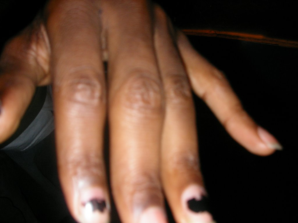 Paid To Party R Men With Painted Nails Sexy