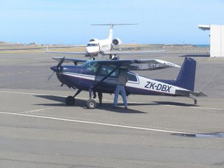 Cessna C180H at Wellington