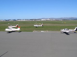 Canterbury Aero Club and main terminal