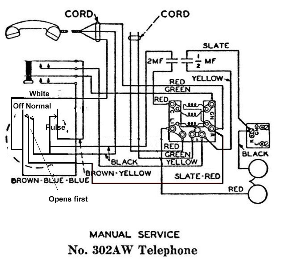 Western Electric 302 Schaltplang Auto Electrical Wiring Diagram Bell