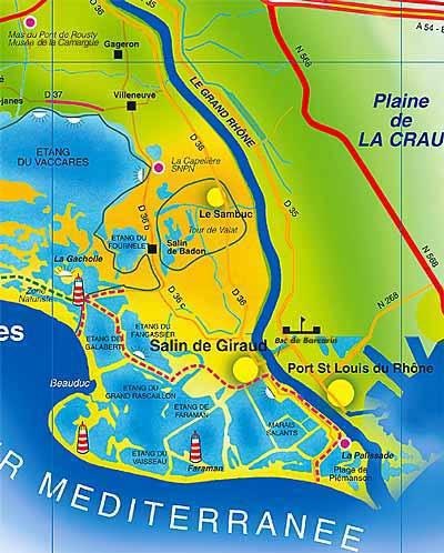 Queribus le chemin vtt en camargue - Office du tourisme salin de giraud ...