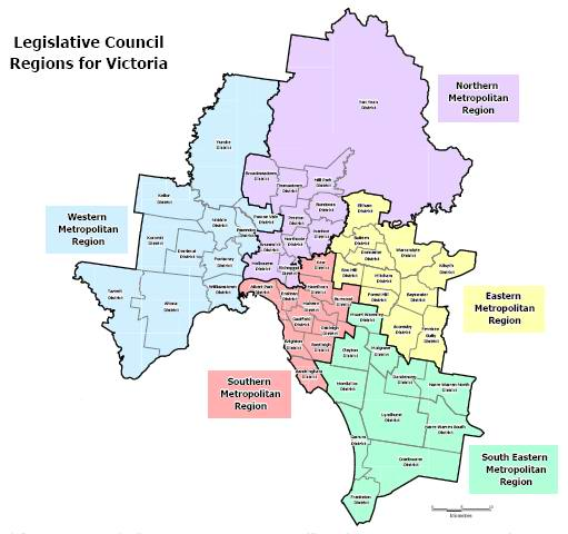 Victorian councils boundaries in dating