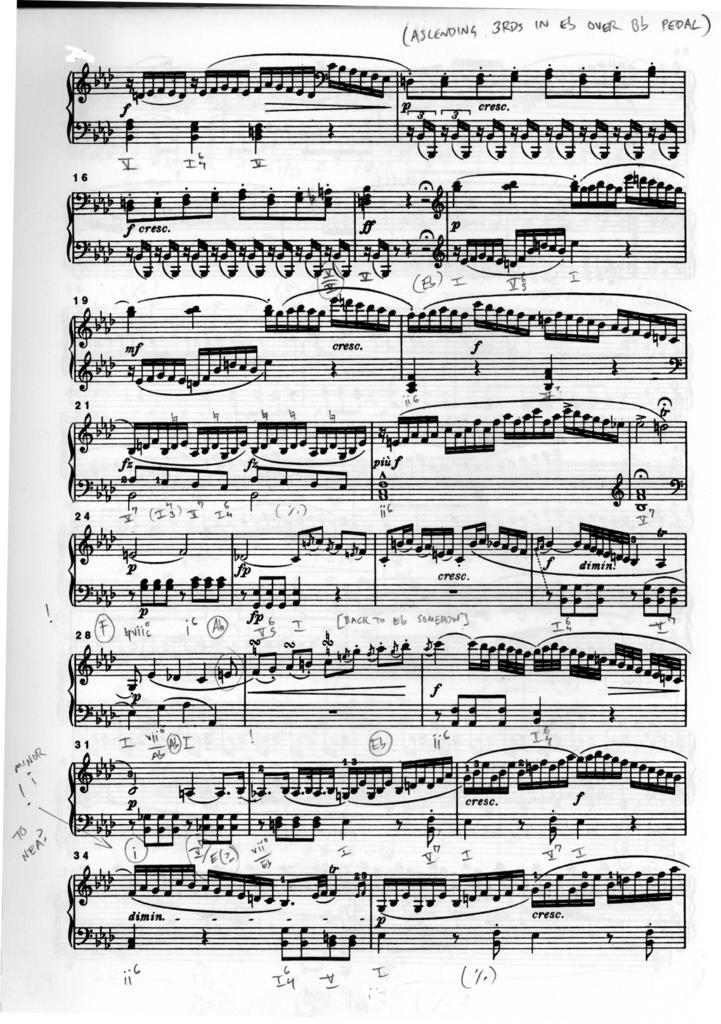 All Music Chords haydn trumpet concerto sheet music : Harmonic Analysis Diary