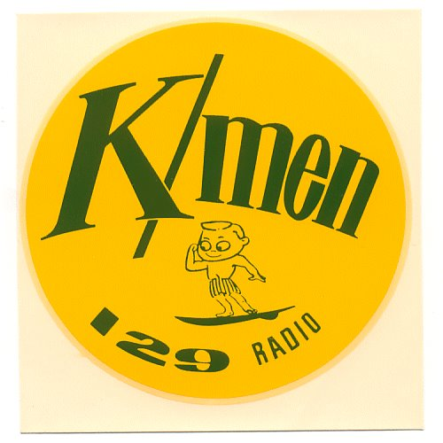 KFXM Tiger Radio & K/MEN 129 in Doug's Stuff Room: To begin