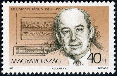 John von Neumann visualized the memory as a retina.